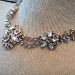 1950's Vintage Jewelry - Vintage 1950's Rhinestone Necklace